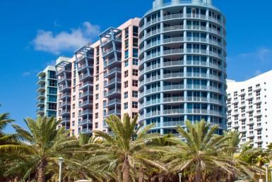 1500 Ocean Drive Beach Condos Building Exterior View