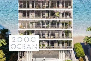 2000 Ocean Building with Logo Overlay