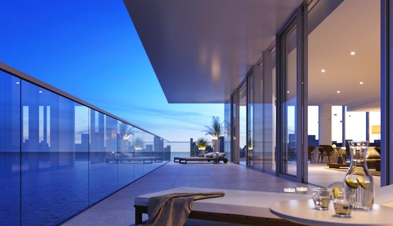 2000 Ocean Condos Suite Balcony