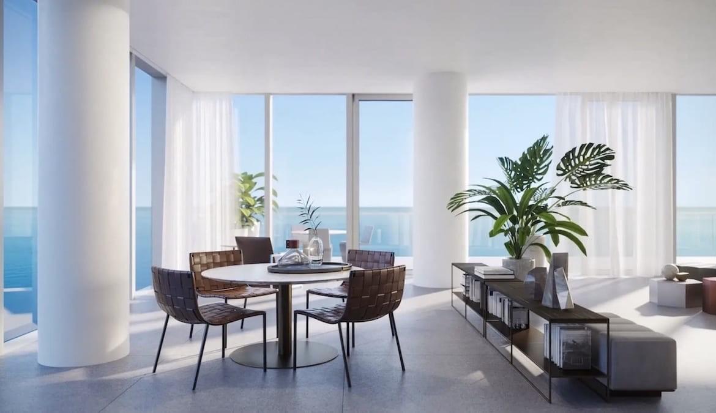 2000 Ocean Condos Suite Dining