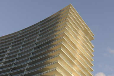 Apogee South Beach Condos Building Exterior View