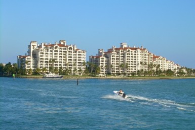 Bayview at Fisher Island Condos Skyline View