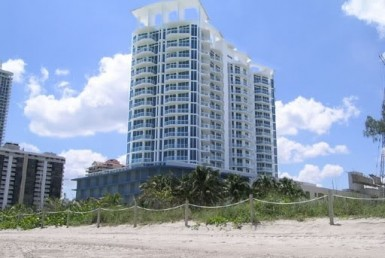 Bel Aire on the Ocean Beach Condos Skyline View