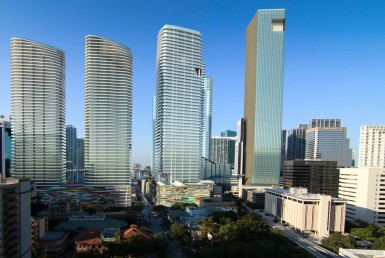 Brickell Heights East Condos Exterior View