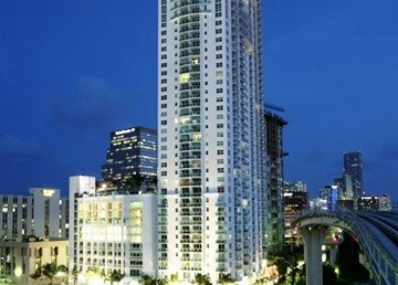 Brickell on the River Condos Exterior View
