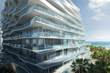 Fendi Chateau Residences Surfside Condos Exterior View