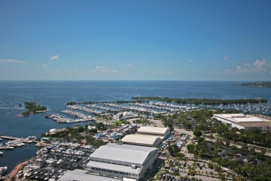 Grovenor House Coconut Grove Condos Sky Line View