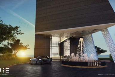 Muse Sunny Isles Beach Condos Building Exterior View