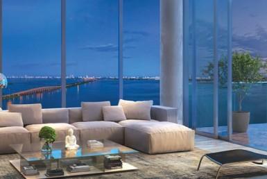 One Paraiso Condos Living Area