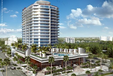 Paramount Ft.Lauderdale Condos Exterior View