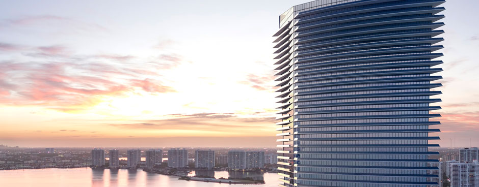 Residences by Armani Casa Sunny Isles Beach Condos Building Exterior View