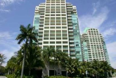 Ritz Carlton Coconut Grove Condos Building Exterior View