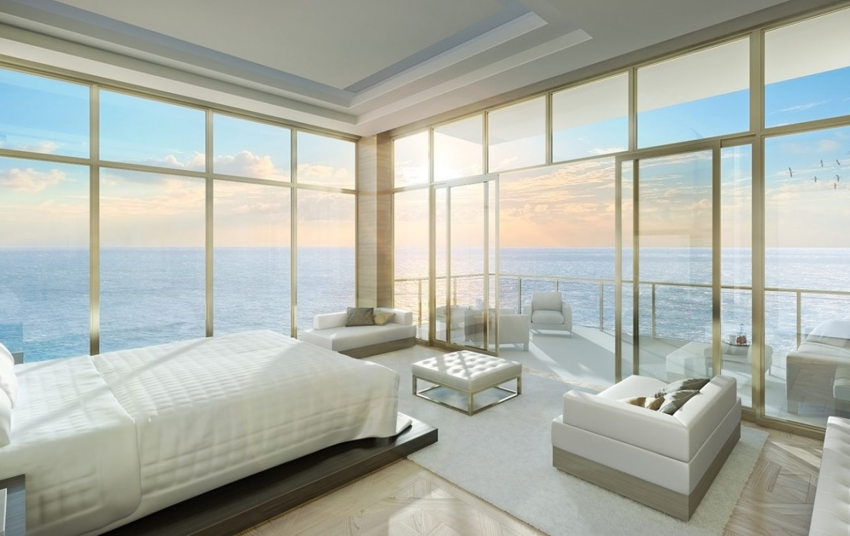 The Mansions at Acqualina Sunny Isles Beach Condos Bed Room