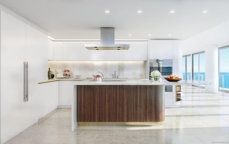 Four Seasons Residences Suite Kitchen