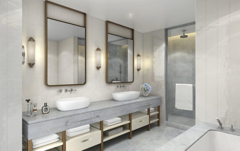 Four Seasons Residences Suite Bathroom