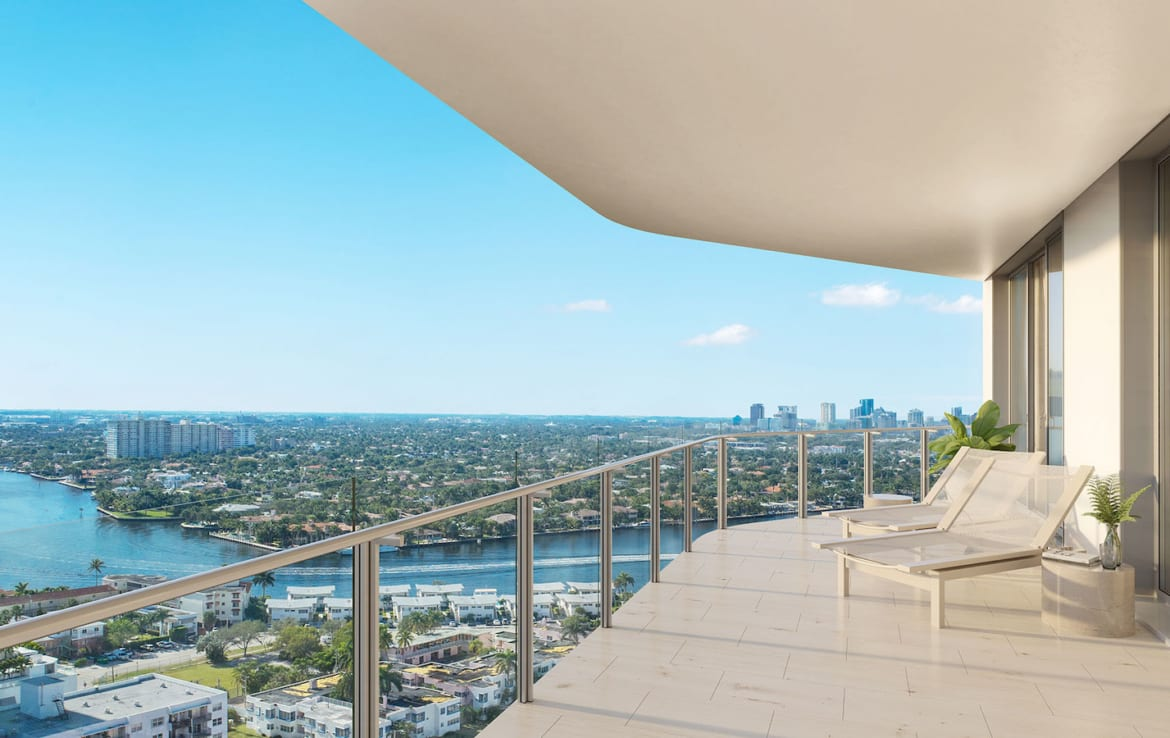 Four Seasons Residences Suite Balcony
