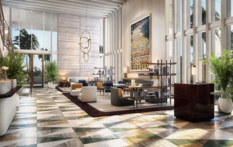 Four Seasons Residences Lobby