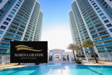 Marina Grande Daytona Building with Logo Overlay
