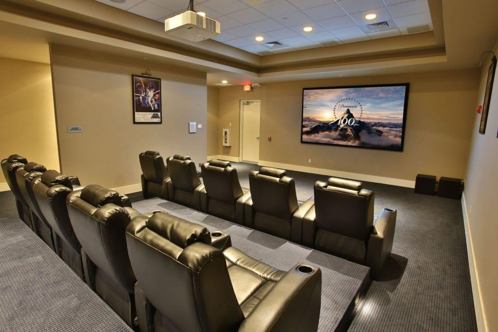 Marina Grande Daytona Theatre Room