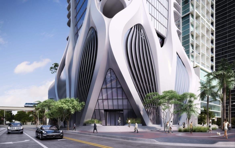 One Thousand Museum Condos Building Exterior