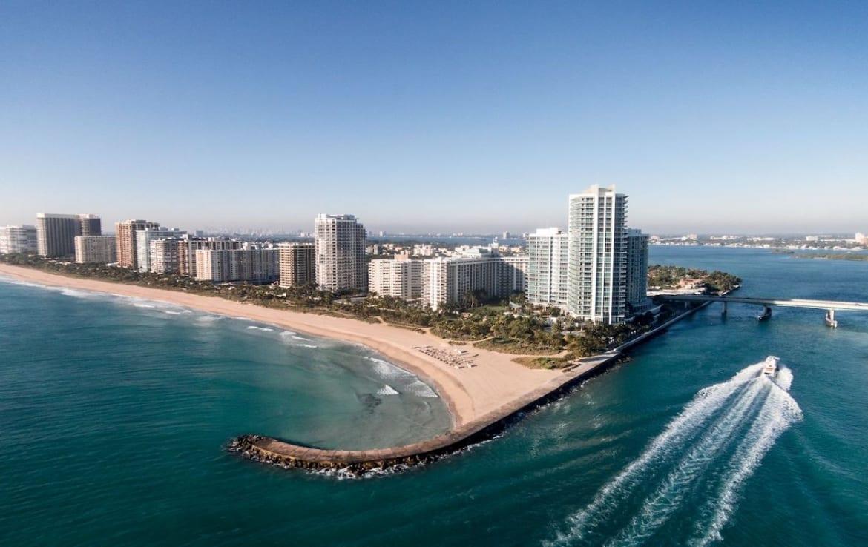 The Ritz-Carlton Residences One Bal Harbour Aerial