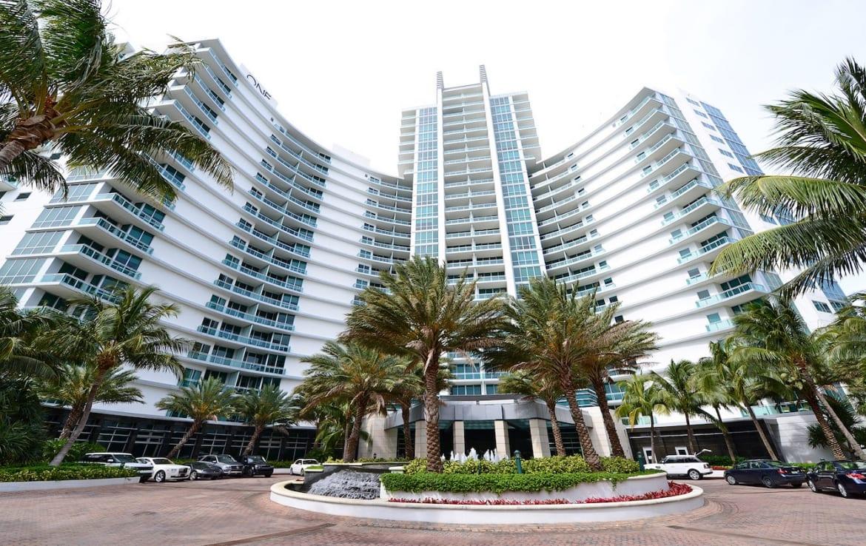 The Ritz-Carlton Residences One Bal Harbour Building Exterior