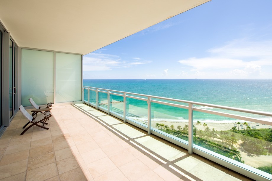 The Ritz-Carlton Residences One Bal Harbour Balcony View