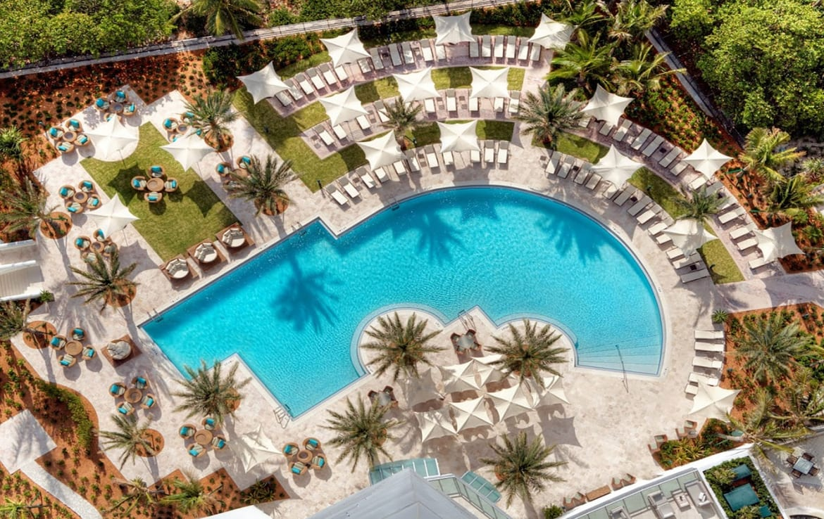 The Ritz-Carlton Residences One Bal Harbour Outdoor Pool