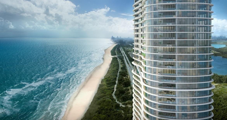 The Ritz-Carlton Residences Sunny Isles Building Exterior and Ocean