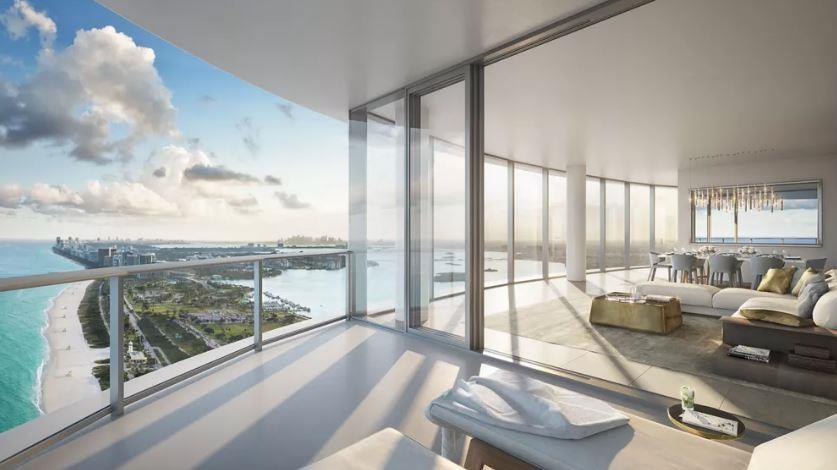 The Ritz-Carlton Residences Sunny Isles Suite Balcony