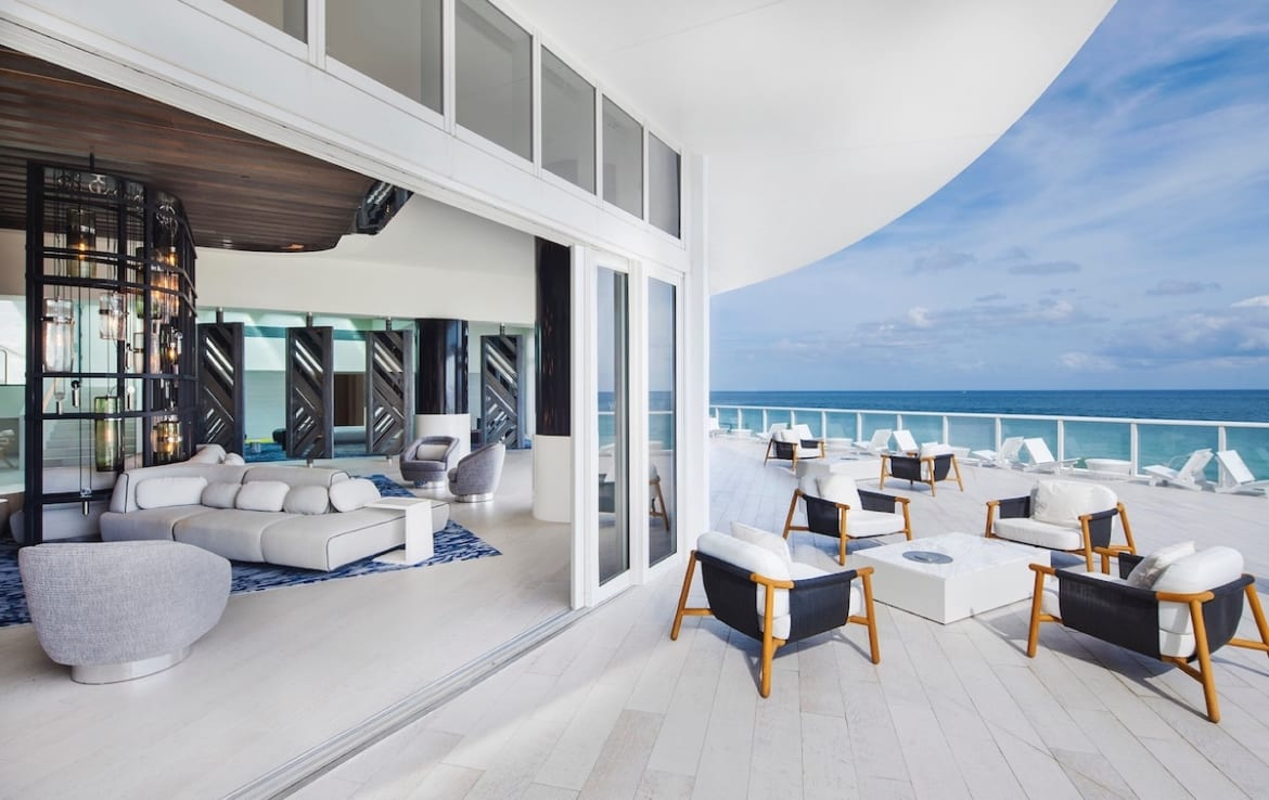 W Fort Lauderdale Residences Terrace