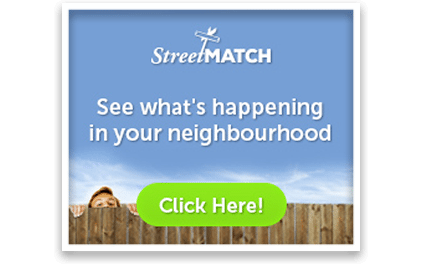 Click here to see what's happening in your neighbourhood