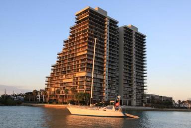 1000 Venetian Beach Condos Building Exterior View
