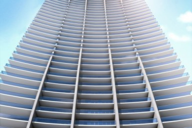 1010 Brickell Condos Building Exterior View
