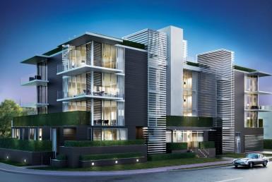 1414 West Beach Beach Condos Building Exterior View
