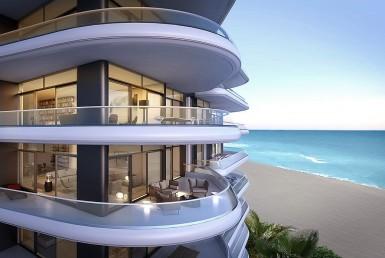 Faena House Beach Condos Exterior View