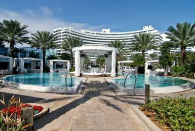 Fontainebleau II Hotel Beach Condos Building Exterior View
