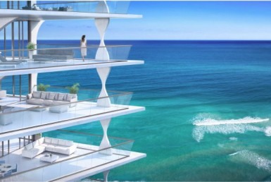 Jade Signature Sunny Isles Beach Condos Balcony