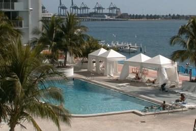 Mirador South Beach Condos Swimming Pool Area