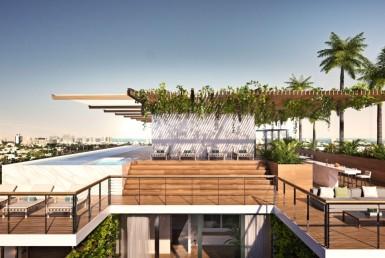 Monad Terrace Beach Condos Balcony