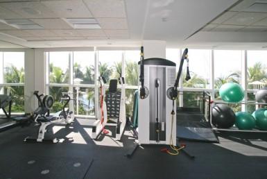 Murano Grande Beach Condos Fitness Area