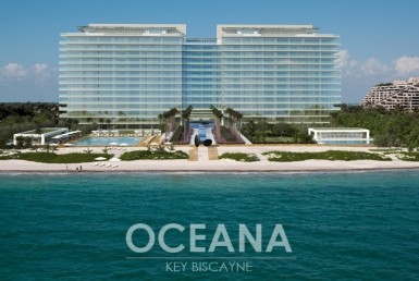 Oceana Key Biscayne Condos Exterior View