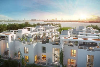 One Bay Residences Condos Sky Line Area