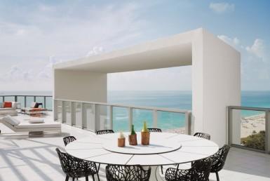 Residences W South Beach Condos Balcony