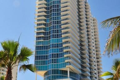 Setai South Beach Condos EXterior View