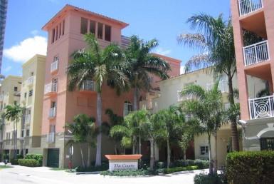 The Courts Beach Condos Exterior View