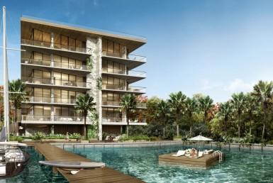 The Fairchild Coconut Grove Condos Swimming Pool