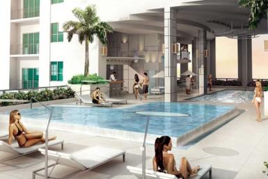 The Loft Condos Swimming Pool