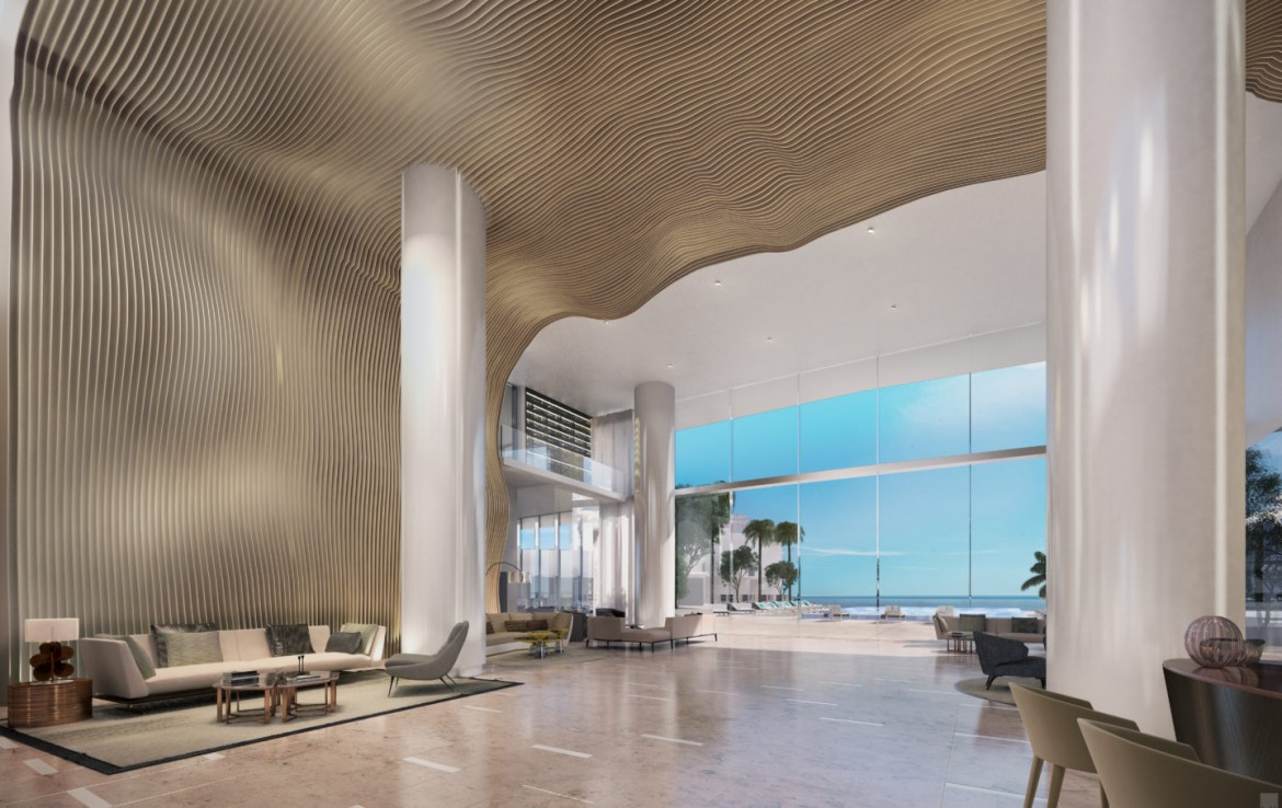 Turnberry Ocean Club Residences Sunny Isles Beach Condos Living Area