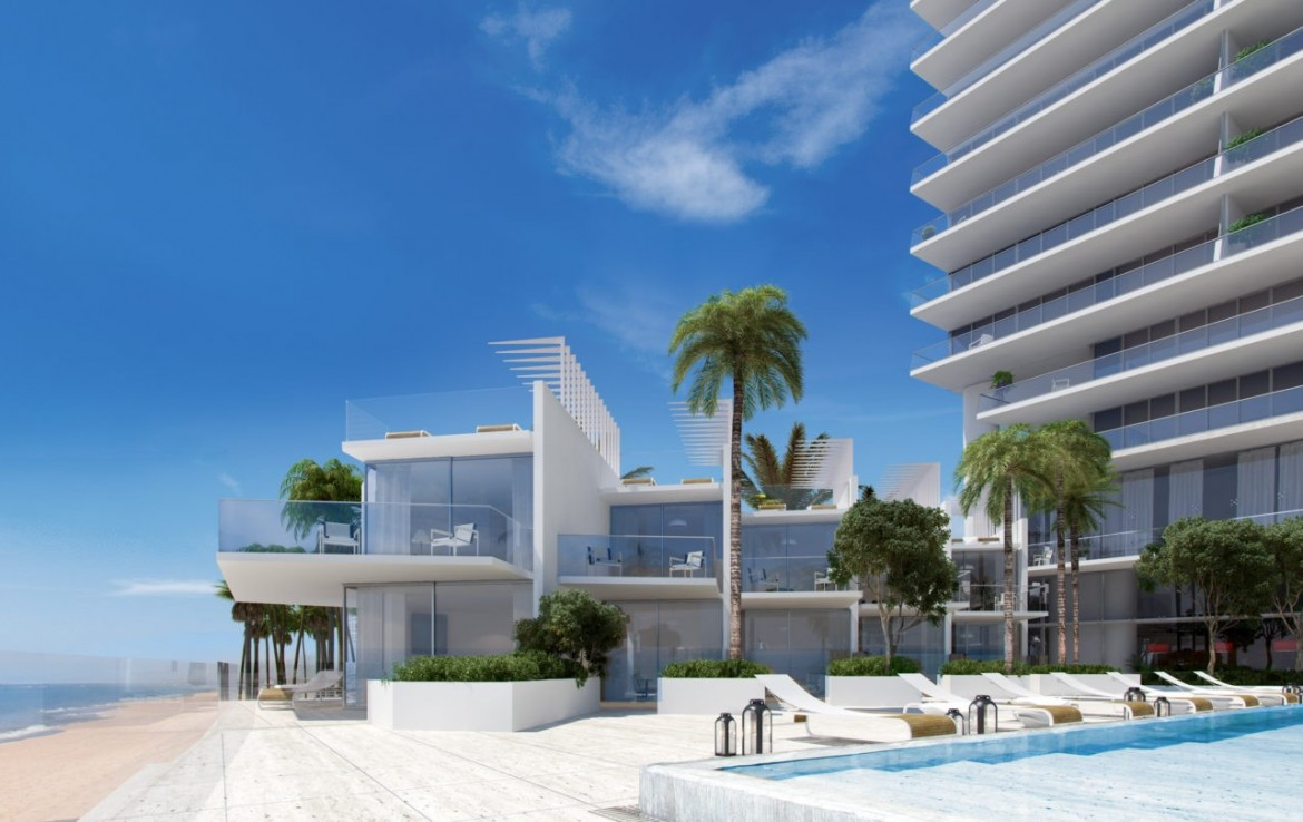 Turnberry Ocean Club Residences Sunny Isles Beach Condos Sea View